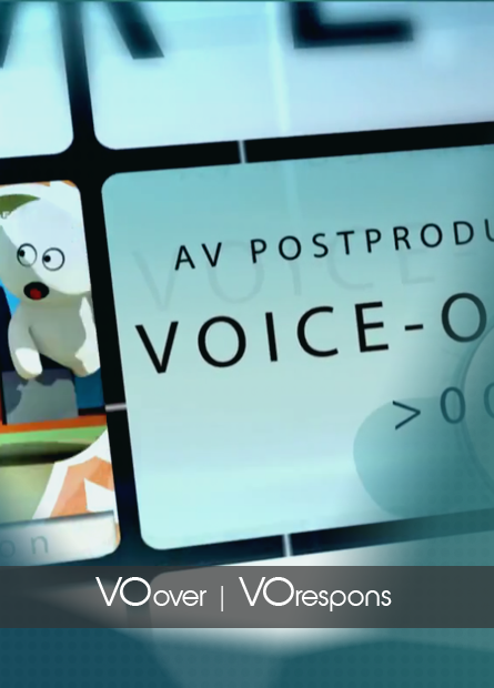 voice-over & voice-respons opname